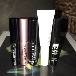Set of 5 designer mascara minis